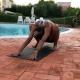 posizione di allungamento della schiena