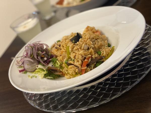 piatto di riso