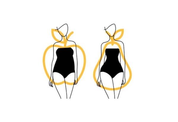 disegno della forma del corpo